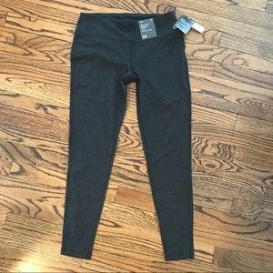 New GAP FIT Performance Cotton Leggings Gray M